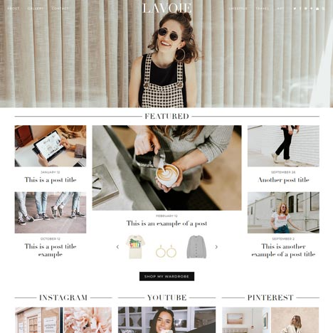 WordPress Theme: Blossom